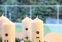 Adventskränze 2013 / Sammlung von Adventskränzen