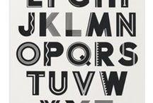 Alfabet/letters / by Helene Ruijs