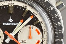 Vintage Chronograph Watches / by CK