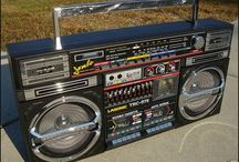 Ghettoblasters- Boomboxes