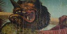 Babilonia la Grande / Bestiari apocalittici contro mostrificazioni contemporanee, luride gobbe e plebee. Archivio di rappresentazioni escatologiche e consolatorie. Per ricordarsi che il tempo non esiste, e la fine del tempo è in corso da sempre.
