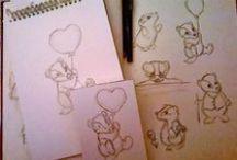 Scribblings and Doodlings - SproutymouseDoodles - / Sketchbook doodles