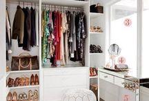 Déco: closets, dressing rooms