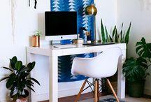 Déco: office / bureau / Workspaces