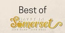 Best of Savvy In Somerset / Best of Savvy In Somerset. All my best blog posts in one place.