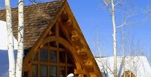 Our PASSION / We love the beauty of a log and timber home! We see ourselves as architects of life, engineers or memories, and cultivators of craftsmanship. If you can dream, we probably can make it! Visit us at www.cedarhomes.com