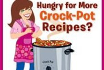 Crockpot cooking / by Cindy Redden