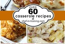 casserole and Cheesy Foodie