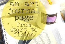 Art Journaling / Ideas for your planner & planning needs. + Unleash your creative side with an art journaling.