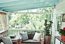 Haint Blue / Porch Ceiling