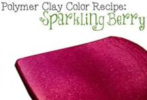 Polymer Clay Color Recipes / Find color recipes for all kinds of polymer clays.