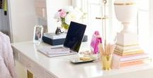 Office Chic / Cute, classic, and preppy accessories to dress up a boring office!