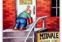 The Far Side / Pinterest is deleting all of my Far Side pins, so this board might disappear soon. / by Lady Jewels