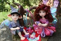 Polymer Clay Dolls / Dolls handmade with polymer clay.