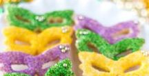 Mardi Gras Madness / Ideas for fun Mardi Gras parties, drinks, fashion, and fun