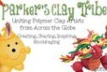 Parker's Clay Tribe / Here's a collection of all kinds of polymer clay work made by members of Parker's Clay Tribe, a FREE FaceBook Community. Come join us! https://www.facebook.com/groups/ParkersClayfulTutorials/