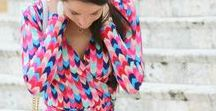 Bright Summer Fashion / Bright looks and outfit inspiration for summer