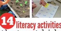 Literacy Lessons and Activities / We collect the activities/tools to make it easier for you to find what you're looking for! If it deals with literacy we'll get it up for you!