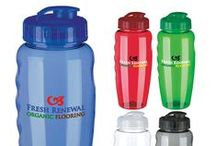 Custom Printed Sports Water Bottles / Get your business noticed with promotional sports water bottles! Great for sporting events, teams and group outings!