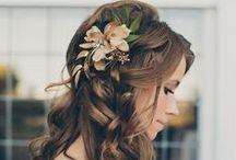 Bridal Hair / Ideas for your big day.