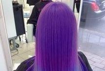 perple hair