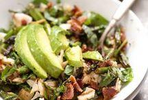 Salads to Satiate / Different salads