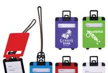 Promotional Travel Accessories / Promote your business to customers on the go! Custom printed travel accessories make the ultimate promotional marketing gift! Get your business noticed around the world!