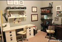 Office / Craft Room / Design, decor, and organizing for the home office