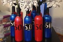 50th Birthday Party / Ideas for 50th Celebrations.