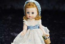 "Vintage Wendy-Kins / Madame Alexander 8"" 1950-1960 / by Cathy Cranmer"