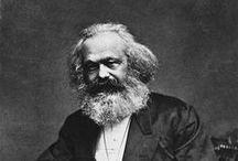 Karl Marx / La bacheca si incentra sulla vita e la filosofia di Marx