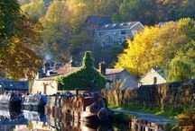 Boating / Narrowboats and canals - one day I'll own a narrowboat :) and I'll call it Fernweh