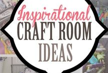 Craft Cave / Ideas for a crafting space in the garden