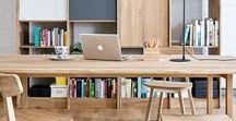 Deco Bureau / Office decor / Dans le bureau, chaque accessoire a son importance. Peaufinez la décoration de votre bureau avec des accessoires qui s'avèrent être aussi utiles que beaux et originaux : un tapis de souris vitaminé, un porte-courrier design, une belle corbeille à papier colorée...