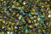 Czech Dragon Scale Beads