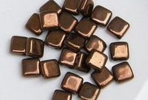 CzechMate 2-Hole Tile Beads
