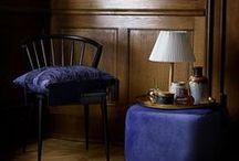 Deco Bleue / Blue decor / Pour une déco apaisante, optez pour le bleu. Sur les murs ou simplement par petite touche à travers des accessoires, le bleu sera idéal dans une chambre, une salle de bains ou un salon.