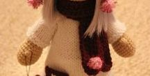 Куклы амигуруми / о вязаных куклах
