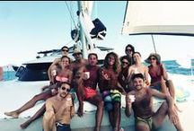 Isole Eolie in Catamarano / Una crociera in catamarano alle Isole Eolie, fra le splendide isole di Lipari, Alicudi, Filicudi, Vulcano, Panarea, Stromboli e Salina. Una vacanza all'insegna del bel mare, relax e ottima cucina.