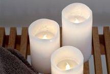 Bougies déco / Candles / Découvrez notre collection de bougies, bougeoirs et photophores pour mettre en valeur votre déco intérieure ou extérieure.