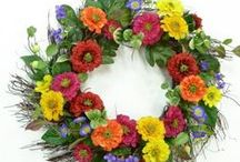 2016 Summer Wreaths / Our brand new collection of summer wreaths are here!