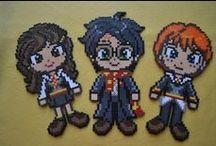 hama beads Harry Potter
