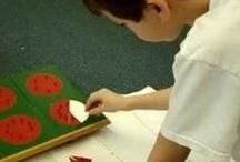 Montessori tasks in the classroom