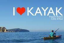 Location de kayak et de stand up paddle dans les Alpes Maritimes