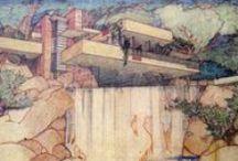 Frank Lloyd Wright drawings / wright
