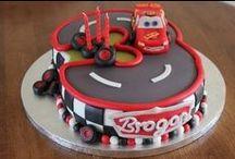 DIY Gâteau anniversaire Cars Flash Mac Queen / des idées pour réaliser un gâteau d'anniversaire cars Disney pour les 3 ans de mon boutchou