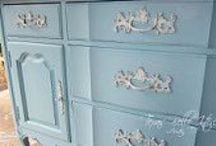 painted furniture  / by Darlene Porter