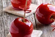 Une Saint Valentin sucrée / Retrouvez dans ce tableau toutes les recettes sucrées avec des pommes Ariane à déguster en tête à tête !