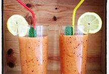 Smoothies aux pommes / Des smoothies frais et vitaminés pour partager un moment agréable