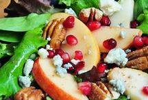 La fraîcheur des salades / Découvrez les recettes de délicieuses salades aux pommes